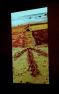 Rejuvenating Spirit of the Land installation 2019, sand ochre art after Native Title in 2011 artist Craig Tapp